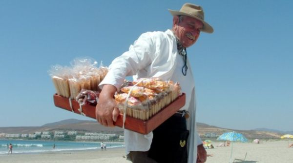 vender dulces en la playa como idea de negocio