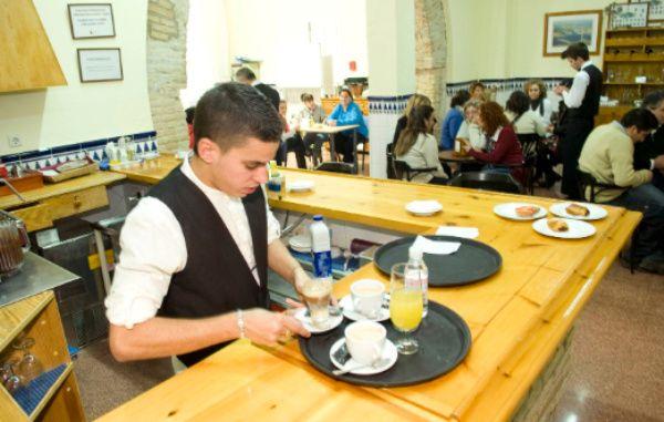 el trabajo duro es el enemigo del éxito en una cafetería