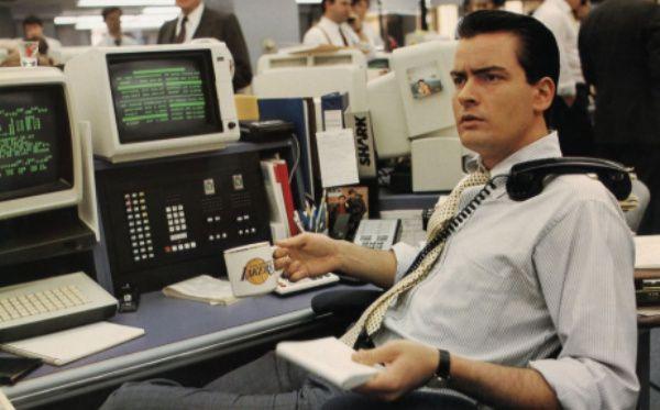 Los millonarios conocen la importancia del trabajo duro - Bud Fox Wall Street
