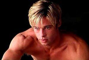 Brad Pitt con 50 años aparenta 20