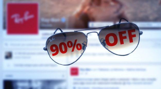 ofertas falsas y falsas promociones en internet