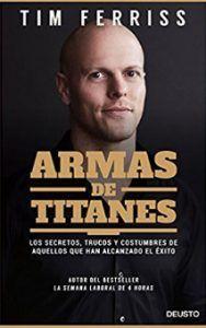 Armas de titanes entre los mejores libros de negocios