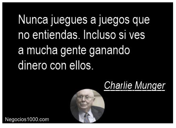 Citas de negocios - Charlie Munger