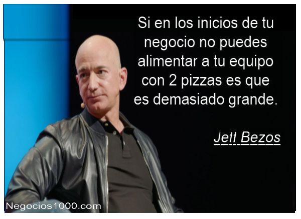 Citas de negocios - Jeff Bezos