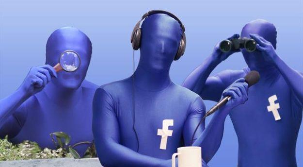 Facebook escucha microfonos espia