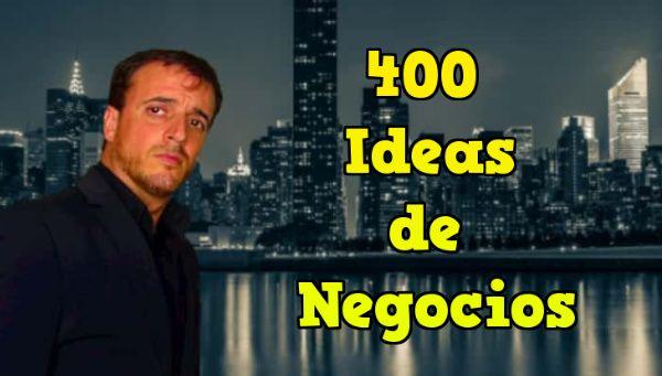 400 ideas de negocios