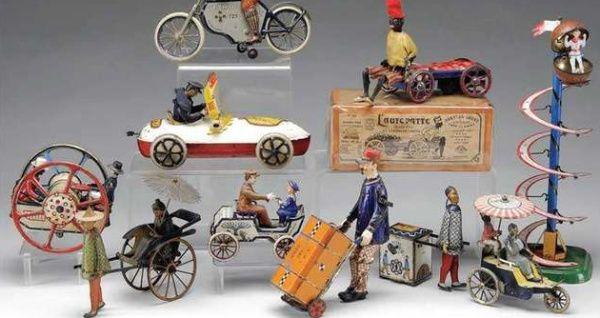 inicia una pequeña empresa de juguetes vintage