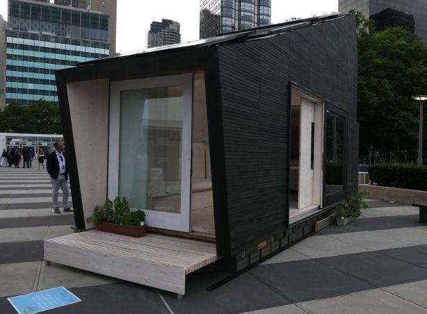 Casas del futuro, pequeñas viviendas de 22 metros que producen agua potable y alimentos para 4 personas