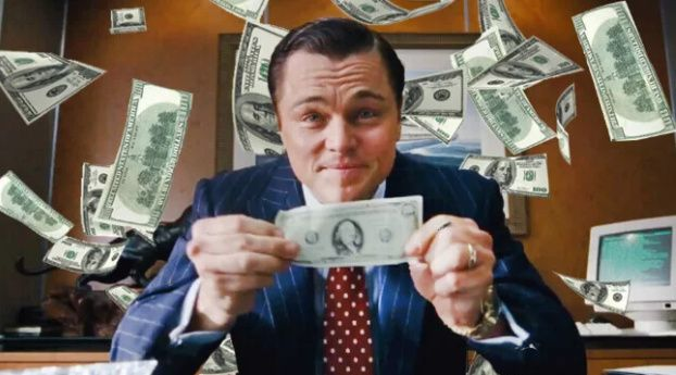 lobo de Wall Street - 3 formas de ganar dinero en la vida