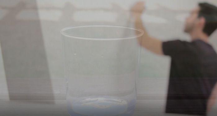 el peso del vaso